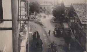 Wörgl 1932 - Straßenbau mit Freigeld. Foto: Unterguggenberger Institut Archiv