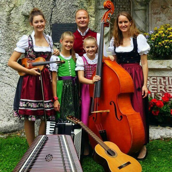 Die Familienmusik Puchleitner. Foto: privat