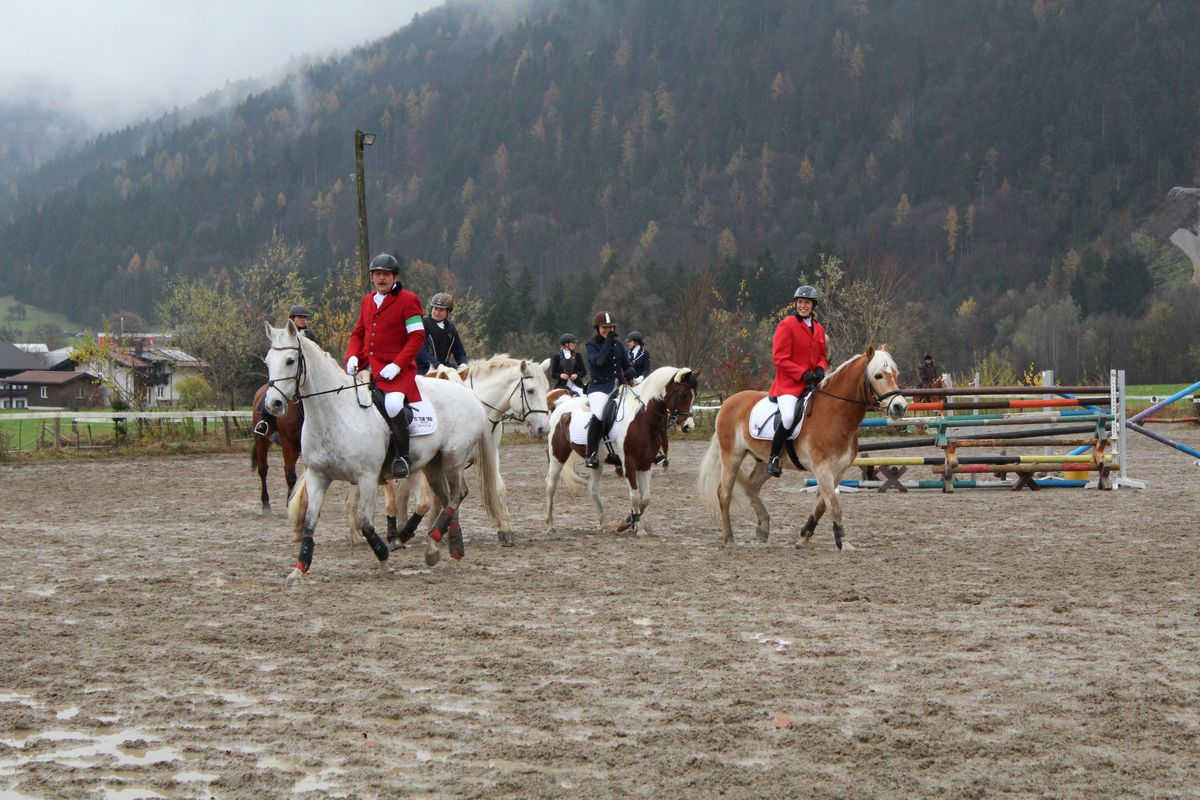 41. Unterinntaler Fuchsjagd am 11.11.2017 in Wörgl und Kundl. Foto: Veronika Spielbichler