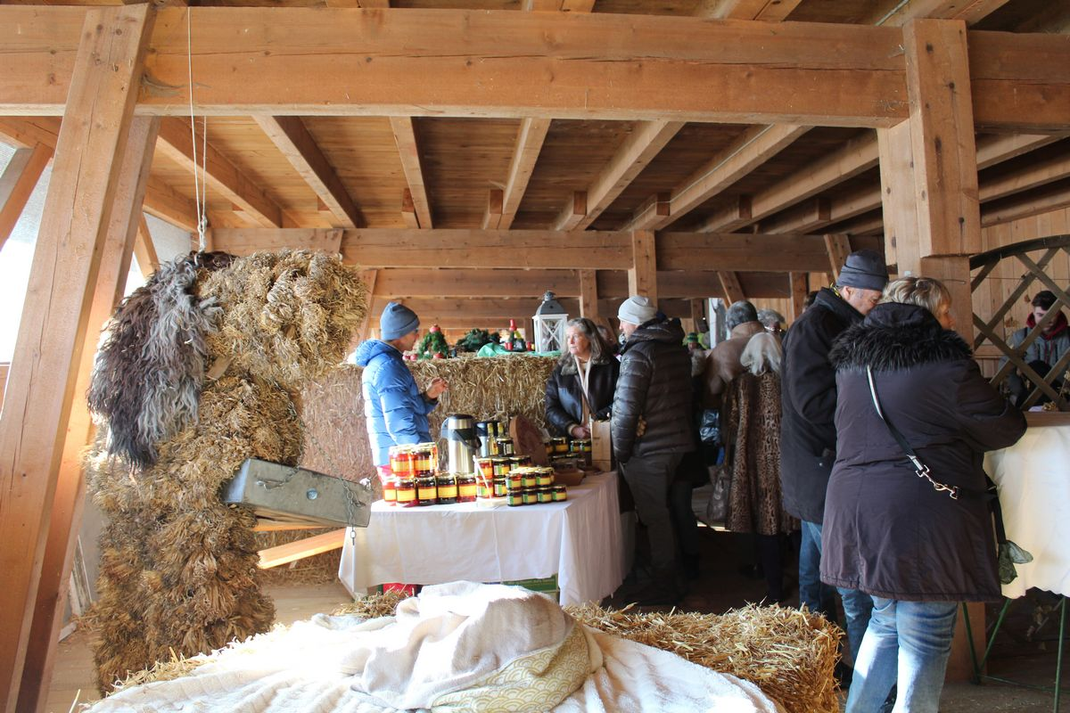 2. Pinnersdorfer Advent am 2.12.2017 in Wörgl-Boden/Bruckhäusl. Foto: Veronika Spielbichler