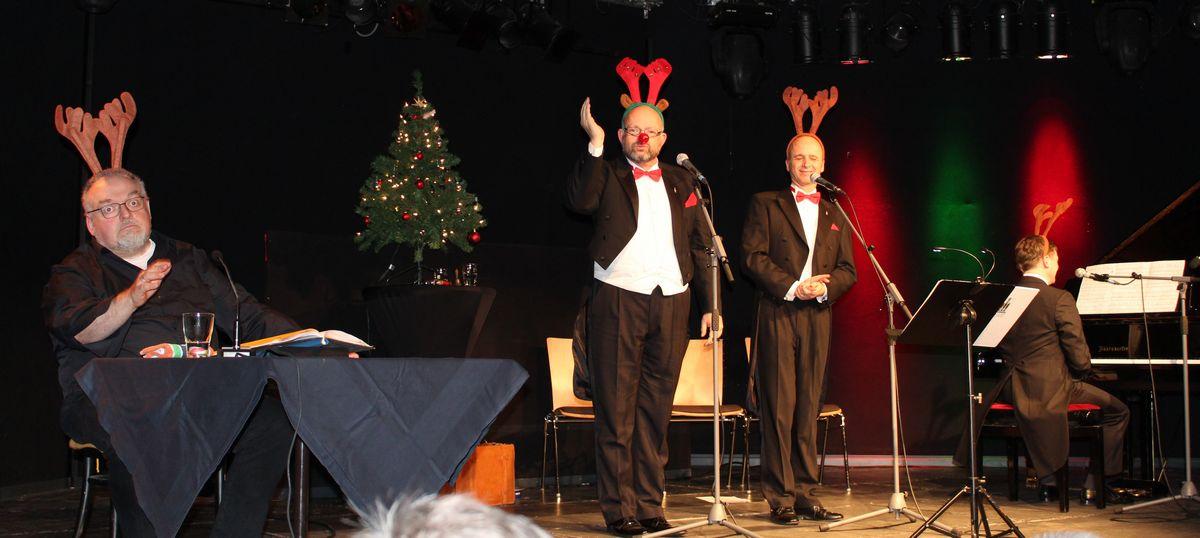 Weihnachten ganz verWunderlich am 16.12.2017 im Komma Wörgl. Foto: Veronika Spielbichler