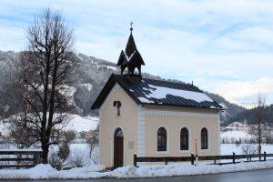 Die Hauser-Kapelle. Foto: Spielbichler