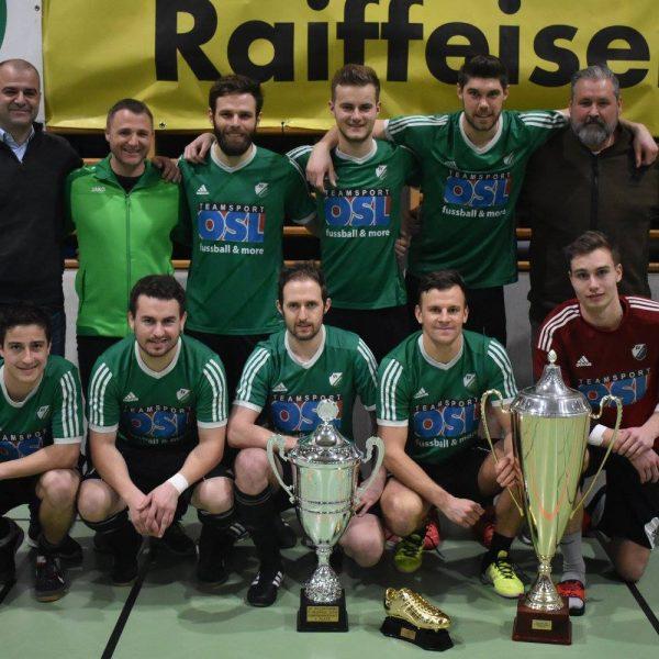 Bruckhäusler Hallenfußballturnier am 6. und 7. Jänner 2018. Foto: FC Bruckhäusl