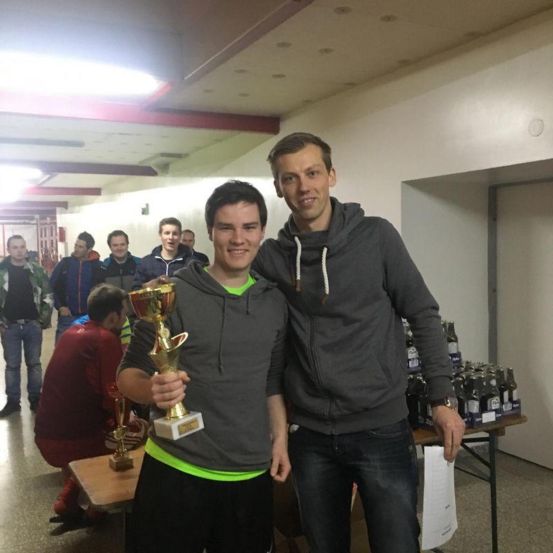 Zweiter Platz für den SC Moskito YoungGuns, im Bild rechts Daniel Bramböck. Foto: TFV-Schiedsrichter - Gruppe Unterland Ost