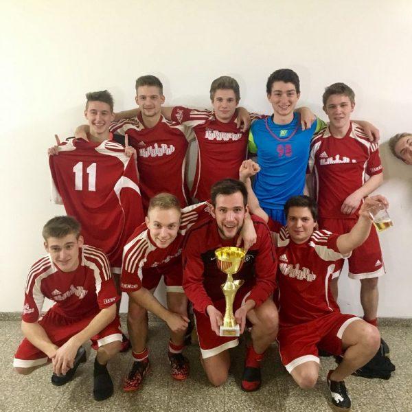 Das Siegerteam vom SV Papalapub. Foto: TFV-Schiedsrichter - Gruppe Unterland Ost