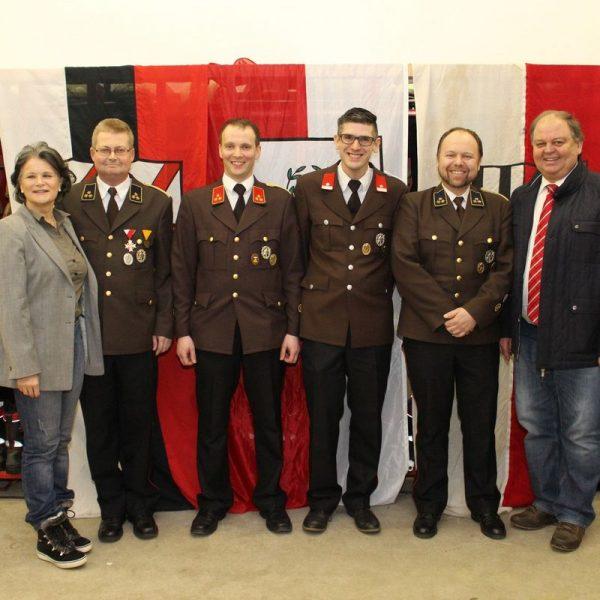 Jahreshauptversammlung der FF Bruckhäusl 2018. Foto: Wilhelm Maier