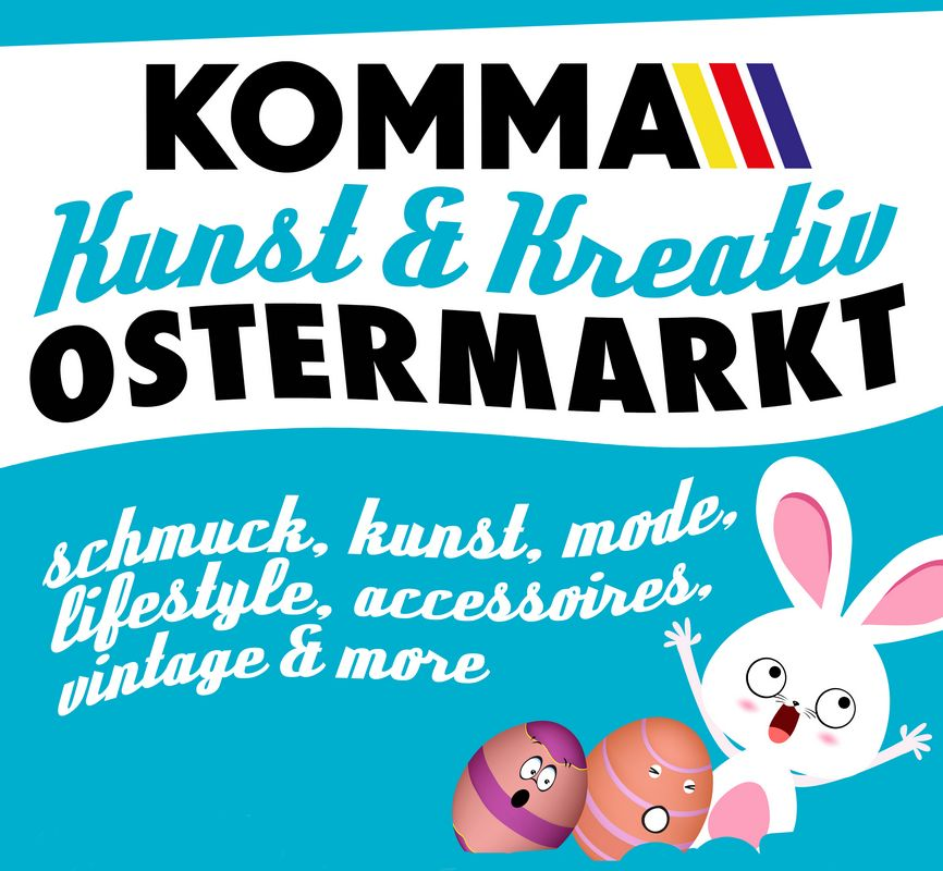kunst und kreativ ostermarkt im komma w rgl vero online. Black Bedroom Furniture Sets. Home Design Ideas