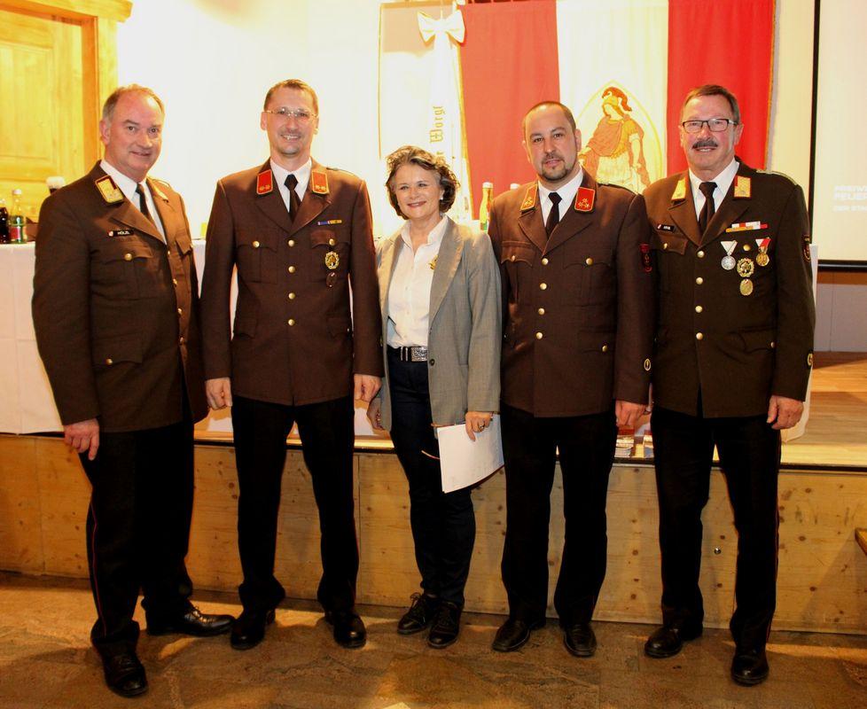 Jahreshauptversammlung der FF Wörgl am 9.3.2018. Foto: Wilhelm Maier