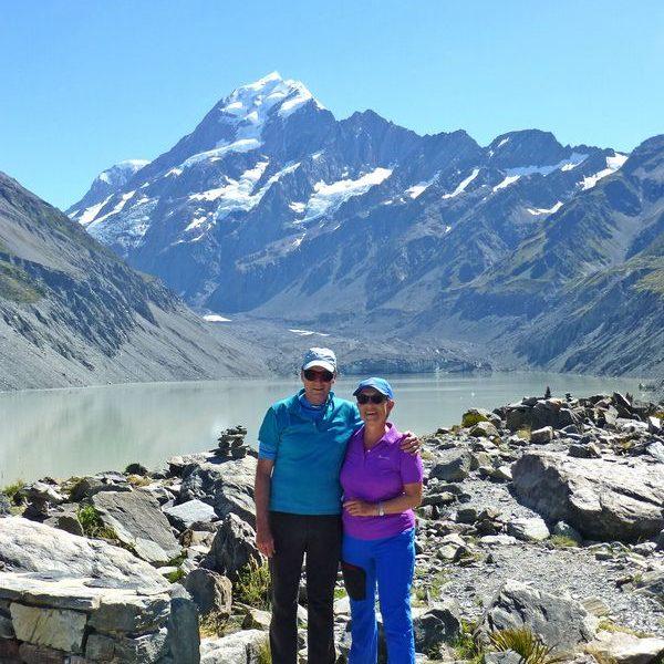 Josef und Barbara Blattl zeigen am 10. April 2018 im Wörgler Tagungshaus Filme von ihrer Reise nach Neuseeland. Foto: Josef Blattl