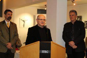 Ausstellung von Hans-Peter Gruber von 25.3.-2.4.2018 im Tiroler Höfemuseum in Kramsach. Foto: Veronika Spielbichler