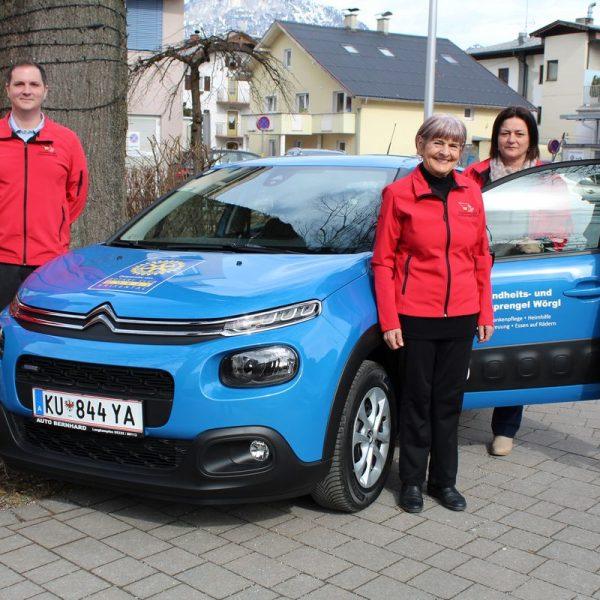 Spende Rotary Club Wörgl-Brixental für den Wörgler Gesundheits- und Sozialsprengel März 2018. Foto: Veronika Spielbichler
