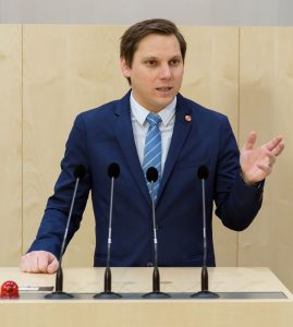 Nationalrat Christian Kovacevic. Foto: Parlamentsdirektion