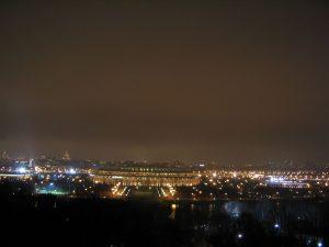 Lichtverschmutzung - zu viel Licht in der Nacht hat negative Auswirkungen für die Natur. Foto: Stefanie Suchy
