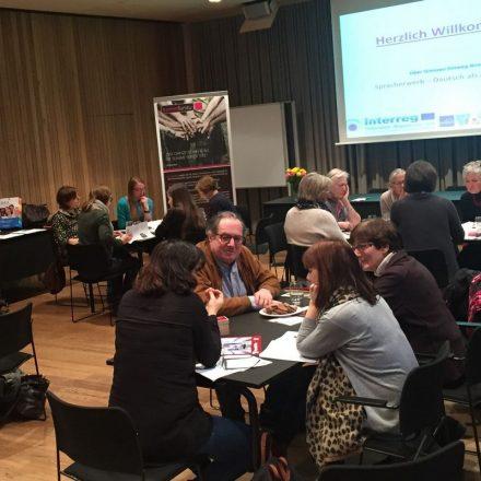 Die Euregio-Fortbildung für ehrenamtliche FlüchtlingshelferInnen wird in Wörgl fortgesetzt. Foto: komm!unity