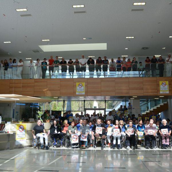 Betriebsversammlung REHA-Zentrum Bad Häring am 19.4.2018. Foto: Veronika Spielbichler