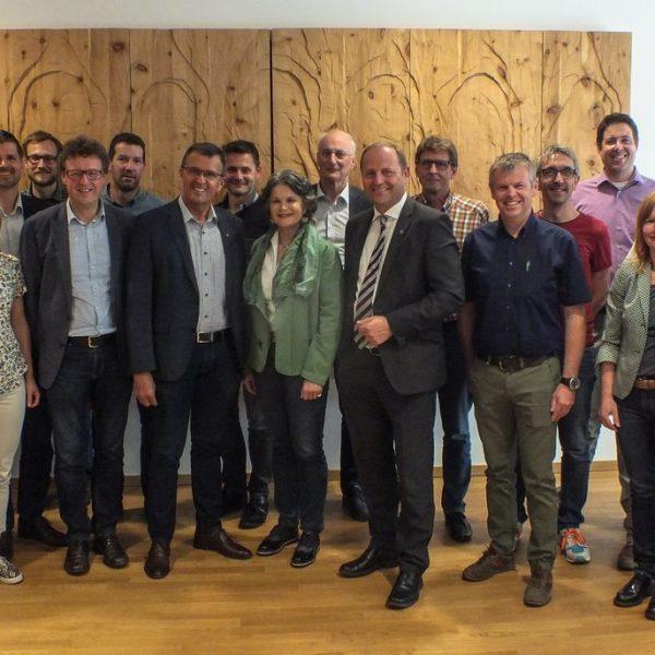 """Auftakt zum Pilotprojekt """"Wie heizt Tirol 2050?"""" in Kundl. Foto: Land Tirol"""
