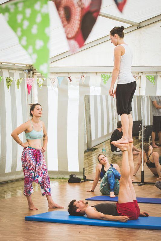Circus & Movement Camp Kramsach. Foto: Isabella Maria Ebner