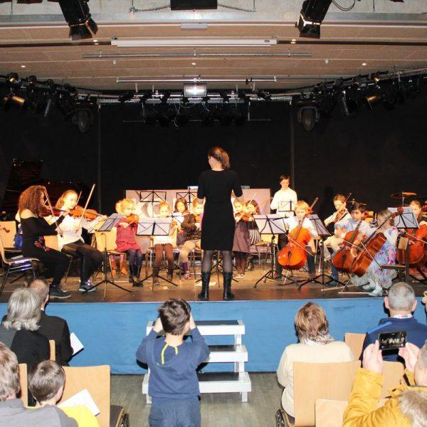 Die Wörgler Streicherstrolche werden beim Ensemble-Schlusskonzert zu hören sein. Foto: Veronika Spielbichler
