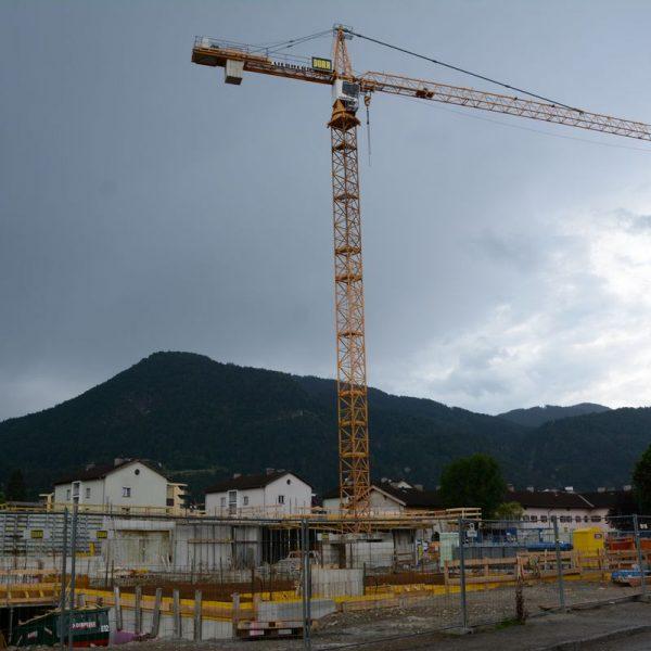 NHT Südtiroler Siedlung Wörgl Baustelle Juni 2018. Foto: Veronika Spielbichler