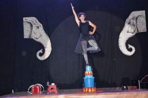 Galashow des 2. Circus and Movement Camps von Akrobatirol am 16. Juni 2017. Foto: Veronika Spielbichler