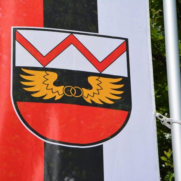 Wörgl-Fahne. Foto: Veronika Spielbichler