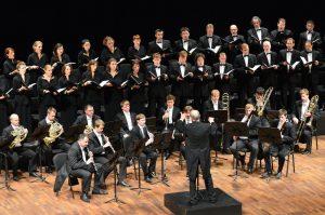 Der Arnold Schönberg Chor gestaltet zwei Konzertabende zum 30-Jahr-Jubiläum der Academia Vocalis. Foto: Academia Vocalis