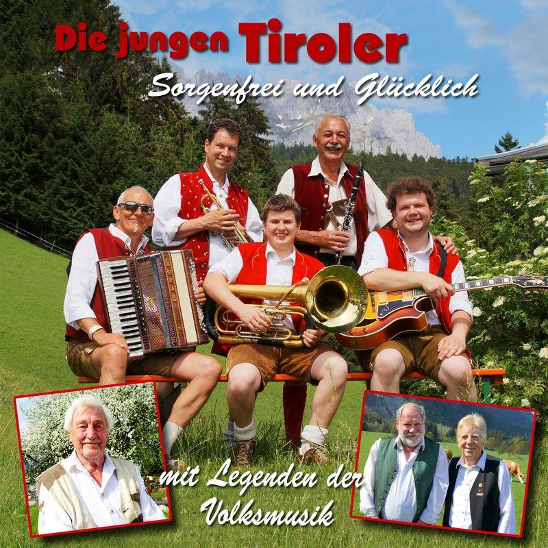 """Die erste CD der Nachwuchs-Oberkrainer-Gruppe """"Die jungen Tiroler"""" wurde in Wörgl produziert. Foto: CD Cover Auner - Alpenspektakel"""