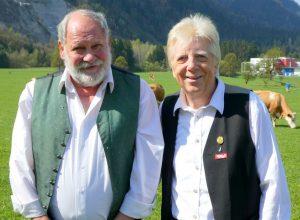 Hans Bindhammer und Jakob Strasser. Foto: Die jungen Tiroler
