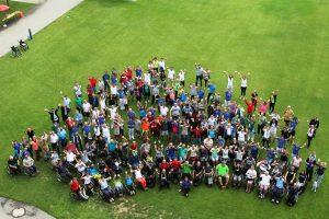 Die TeilnehmerInnen am Sportfest 2018. Foto: Reha Bad Häring/Gasteiger