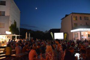 Open Air Kino bei der Wörgler Sommernacht am 18.7.2018. Foto: Veronika Spielbichler