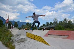 Eröffnung DIY Skateboardpark Wörgl 14. Juli 2018. Foto:Veronika Spielbichler
