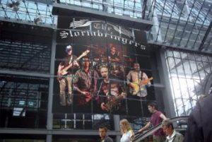 """""""The Stormbringers"""" eröffnen am 15.9.2018 die neue Stage-Bar im Komma. Foto: VZ Komma"""