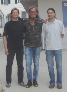 Josef Rangger, Wilhelm Lientscher und Thomas Leo. Foto: privat