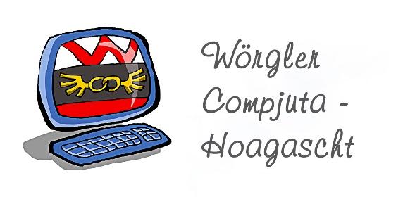 Logo Wörgler Compjuta Hoagascht.