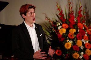 Academia Vocalis Abschlusskonzert Karlheinz Hanser am 2. August 2018. Foto: Dabernig