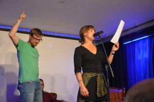Zone Poetry Slam am 25. August 2018. Foto: Veronika Spielbichler