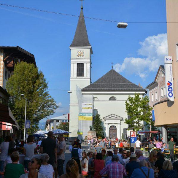 Über die Gassn am 18.8.2018 in Wörgl. Foto: Veronika Spielbichler