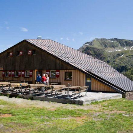 Die Sulzenauhütte ist Ziel der nächsten Wörgler Naturfreunde-Wanderung. Foto: Naturfreunde
