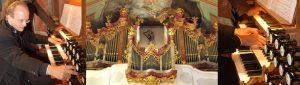 Am 16. September 2018 spielt der Organist Hans-Jörg Albrecht auf der Metzler-Orgel das Jubiäumskonzert. Foto: Kammermusikfest Hopfgarten
