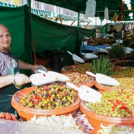 Von 27.-29.9.2018 gastiert ein italienischer Markt in Wörgl. Foto: Ganterer