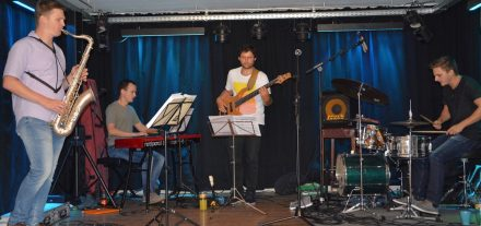 Jazz-Brunch am 2.9.2018 mit Two Five in der Zone Wörgl. Foto: Veronika Spielbichler