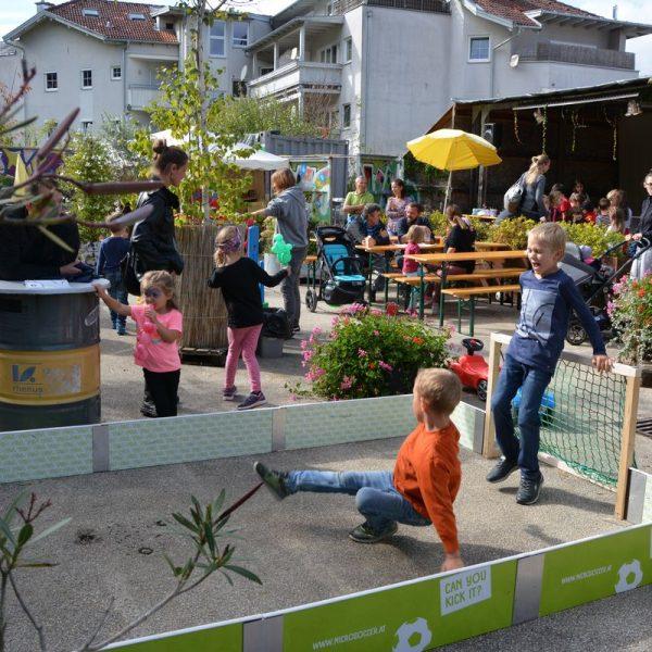 Erlebniszone Straße - autofreier Tag und 10 Jahre Zone am 22. und 23. September 2018. Foto: Veronika Spielbichler