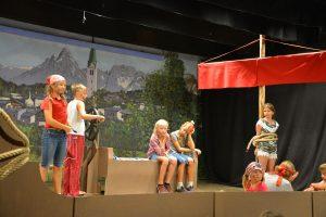 """Volksbühne Kirchbichl - Kindertheater """"Die Innpiraten kommen"""" September 2018. Foto: Veronika Spielbichler"""