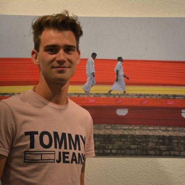 Fotoausstellung Perspektivenwechsel - Reisefotos von Dominic Kainzner in der Galerie am Polylog September 2018. Foto: Veronika Spielbichler