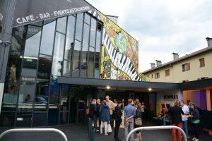 Komma Eröffnung nach Umbau im Sommer 2018 am 13. September 2018. Foto: Veronika Spielbichler