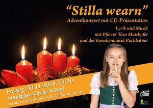 Die neue Weihnachts-CD der Familienmusik Puchleitner wird am 30. November 2018 in der Wörgler Stadtpfarrkirche präsentiert. Foto: Zwoarahaus Records.