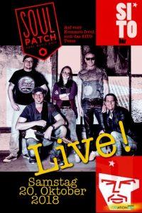 Soulpatch live - am 20.10.2018 in der SitoBar Wörgl. Foto: Sitobar
