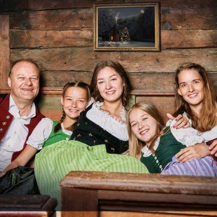 Die Familienmusik Puchleitner aus Wörgl. Foto: Wolfgang Alberty