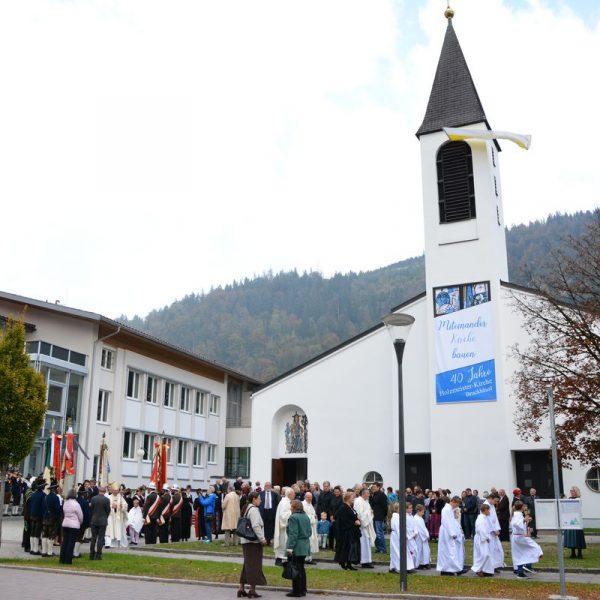 40 Jahre Holzmeisterkirche in Bruckhäusl - Jubiläum mit Dorfabend und Festgottesdienst im Oktober 2018. Foto: Veronika Spielbichler