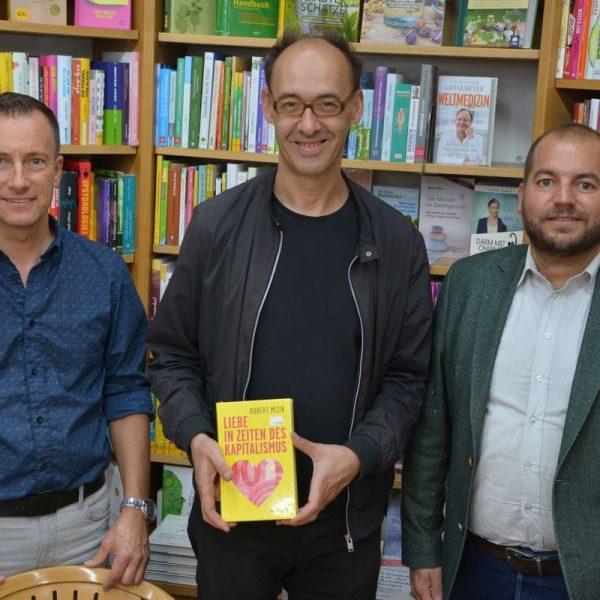 Lesung Robert Misik am 28.9.2018 in Wörgl. Foto: Veronika Spielbichler